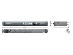 noleggio matrice video Blackmagic Smart - AV Set Produzioni SpA